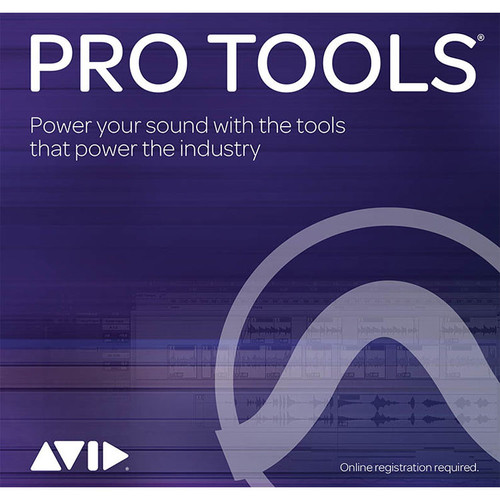 Avid Pro Tools Annual Subscription - Audio and Music Creation Software (Retail, Download)