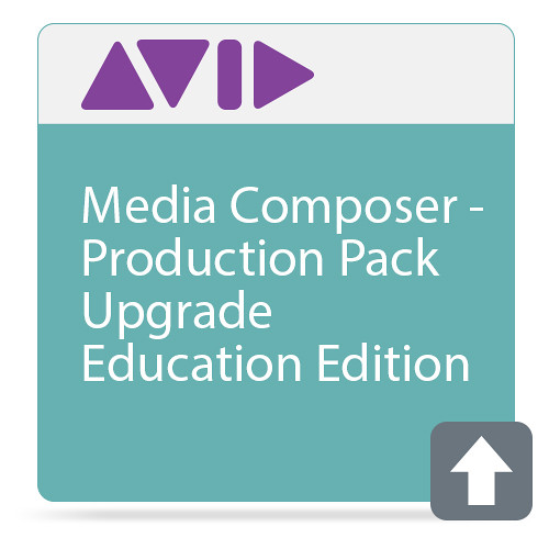 Avid Media Composer Production Pack 2nd-Gen (Educational Upgrade, 1-Year Subscription, Download)