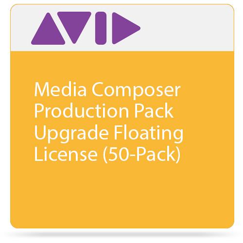 Avid Technologies Media Composer Production Pack Upgrade Floating License (50-Pack)