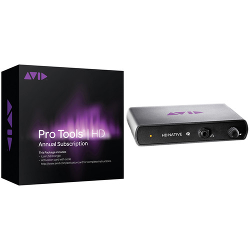 Avid Pro Tools | HD Native Thunderbolt Interface with Pro Tools HD Software