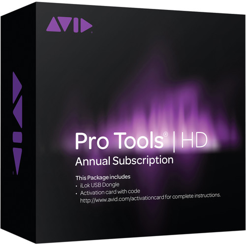 Avid Technologies Pro Tools | HD 12 - Audio and Music Creation Software (Annual Subscription, Boxed)