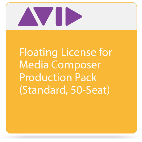Avid Floating License for Media Composer | Production Pack (Standard, 50-Seat)