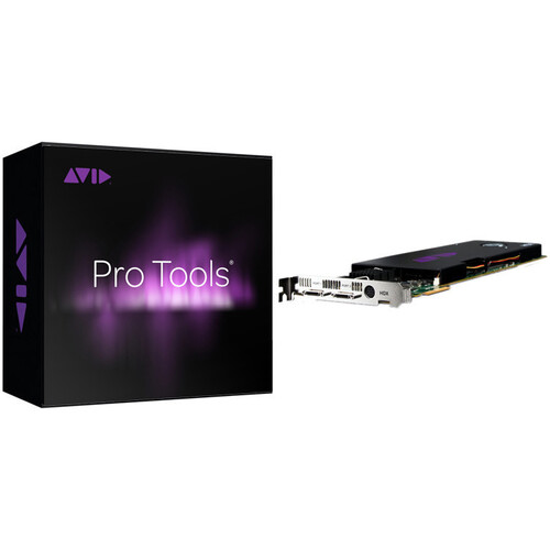 Avid Pro Tools | HDX Native PCIe Card with Pro Tools | HD Software