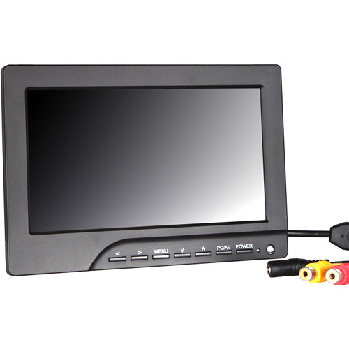 """Avinair Spectre 7"""" Wireless FPV HD Ground Station Monitor with Dual 32-Channel Receiver (800 x 480)"""
