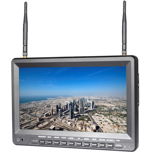 "Avinair Spectre 10"" Wireless FPV HD Monitor with DVR (1024 x 600)"