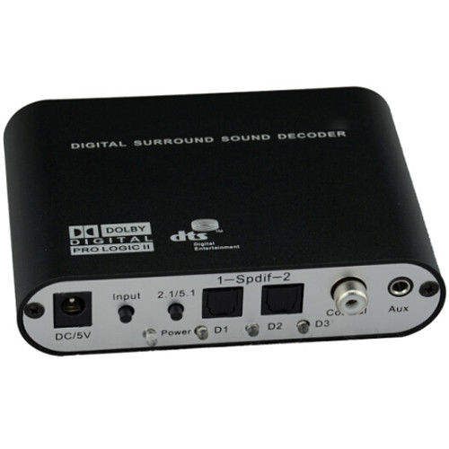 Avinair Spitfire Pro 5.1 Optical/Coaxial/Digital Audio Decoder