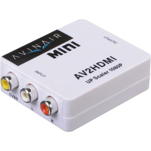 Avinair Spitfire Pro AV to HDMI Converter (Plastic Case)
