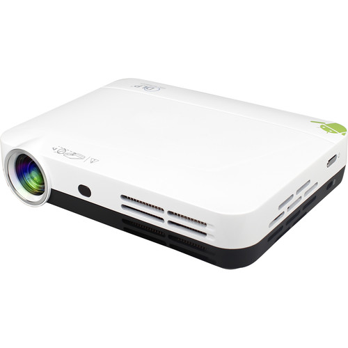 Avinair AVPJ-3DW LED 3D Home Theater Projector with Wi-Fi
