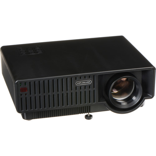 Avinair 320 WXGA Home Theater Projector with Wi-Fi and Smartphone Integration