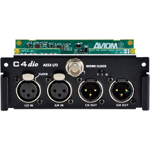 Aviom C4dio Digital Input/Output Card