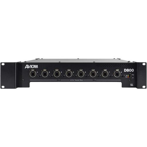Aviom D-800 A-NET Distributor with A-Net Bridge Input