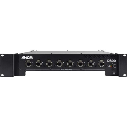 Aviom D-800-Dante A-Net Distributor with A-Net Bridge Input