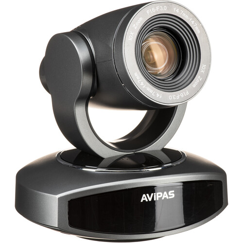 AViPAS AV-1281 HDMI PoE PTZ Camera (Gray)