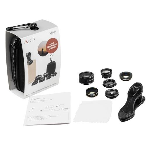 AVODA 6-in-1 Cell Phone Lens Kit