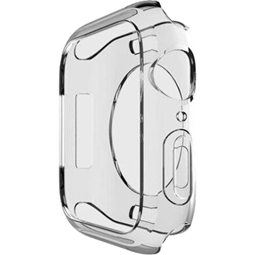 AVODA TPU Bumper for Apple Watch Series 4/5/6/SE (Clear, 40mm)