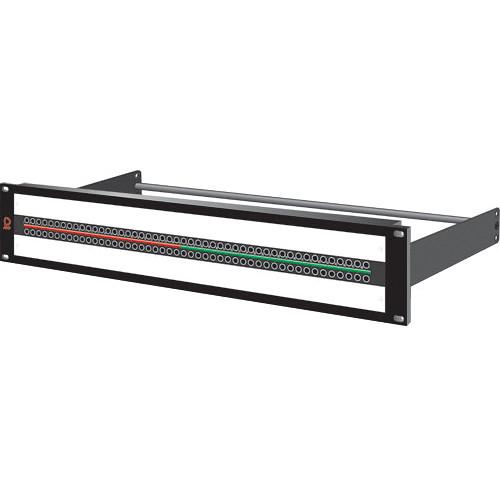 AVP AV-K248E2-KM-BAR SuperHD+ Mosaic Video Jackfield for Microsize Jack