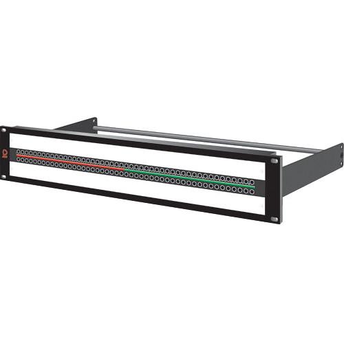 AVP AV-K248E2-KMN-BAR SuperHD+ Mosaic Video Jackfield for Microsize Jack