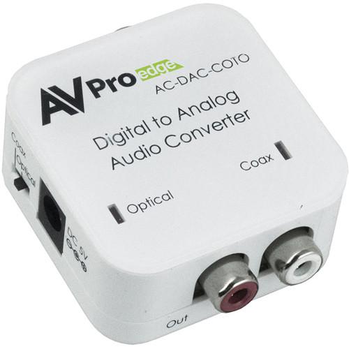 AVPro Edge Digital to Analog Audio Converter