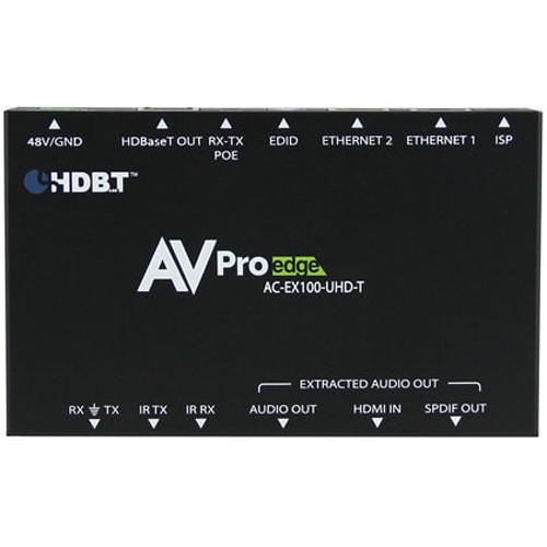 AVPro Edge 4K HDMI over HDBaseT Extender Kit with Bi-Directional Power (330')
