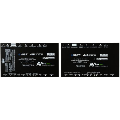 AVPro Edge 4K 4:4:4 HDMI 2.0 over HDBaseT Extender Plus Kit (131')