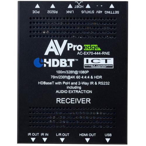 AVPro Edge 4K 4:4:4 HDMI 2.0 over HDBaseT Receiver (230')