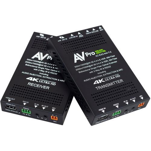 AVPro Edge 4K 4:4:4 HDMI Fiber Optic Extender Kit