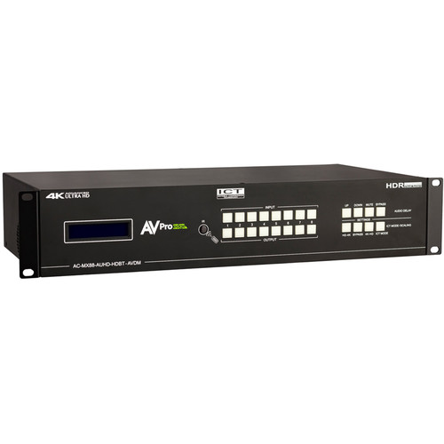 AVPro Edge High Bandwidth Audio and Video Matrix Switcher