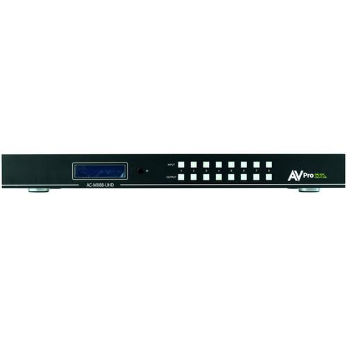 AVPro Edge 8x8 HDMI Matrix Switcher (1 RU)