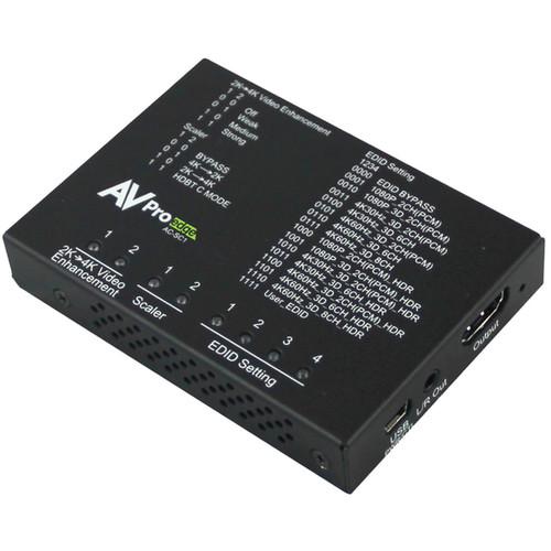 AVPro Edge 18 Gb Scaler, EDID Manager, Audio De-Embedder & Image Enhancer
