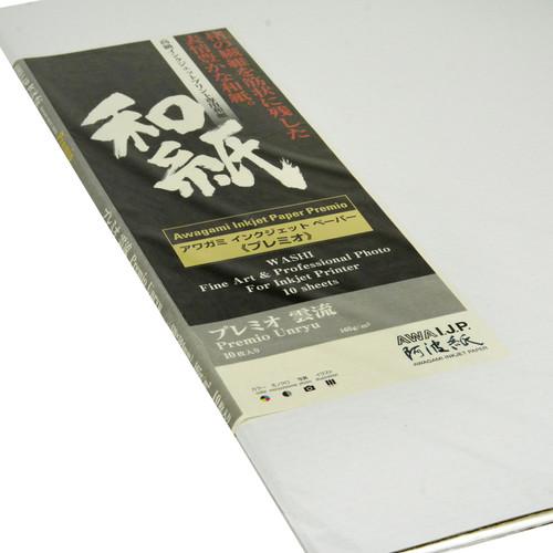 Awagami Factory Premio Unryu Fine-Art Inkjet Paper (A1, 165 gsm, 10 Sheets)
