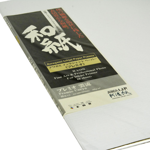 Awagami Factory Premio Unryu Fine-Art Inkjet Paper (A2, 165 gsm, 10 Sheets)