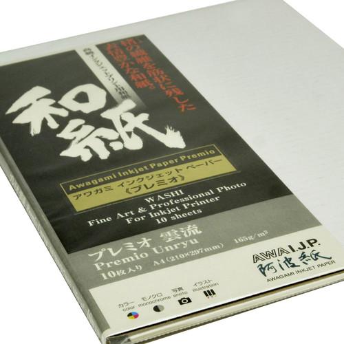 Awagami Factory Premio Unryu Fine-Art Inkjet Paper (A4, 165 gsm, 10 Sheets)