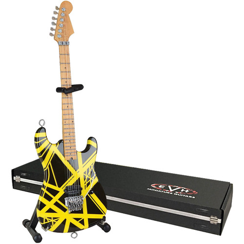 AXE HEAVEN Bumblebee Miniature Replica Guitar