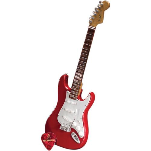 AXE HEAVEN Miniature Fender Stratocaster Guitar Replica (Classic Red)