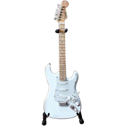 AXE HEAVEN Miniature Fender Stratocaster Guitar Replica (Olympic White)