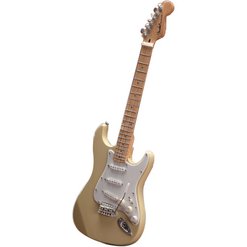 AXE HEAVEN Miniature Fender Stratocaster Guitar Replica (Classic Cream)