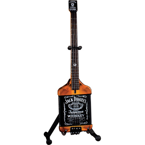AXE HEAVEN Michael Anthony Jack Daniel's Bass Mini Guitar Replica Collectible