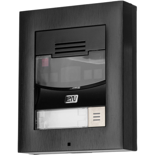 2N IP Solo Intercom System with Camera (Surface Mount, Black)