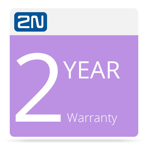 2N 2-Year Warranty for 2N IP Solo-Surface Mount (Black)