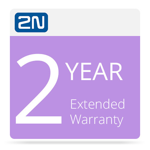 2N 2-Year Extended Warranty for 2N IP Safety-Camera (Black)