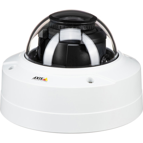 Axis Communications P32 Series P3228-LVE 4K UHD Outdoor Network Dome Camera with Night Vision