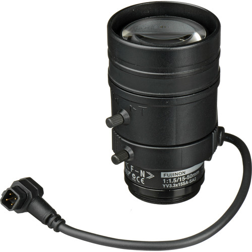 Axis Communications CS-Mount 15 to 50mm F1.5 3 MP Varifocal Lens