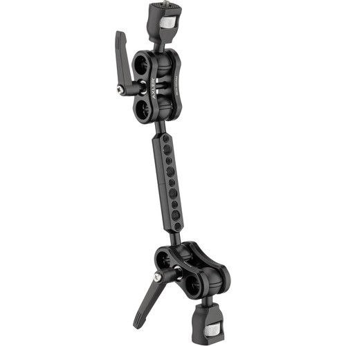 "Axler 12"" Dual Mega Ball Clamp Arm with 1/4""-20 and 3/8""-16 ARRI Accessory Mount"