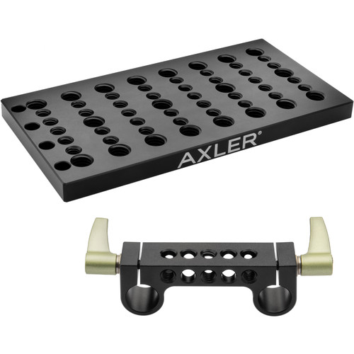 Axler Cheese Plate with 15mm Rod Bridge