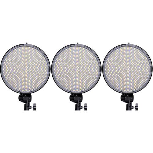 AXRTEC AXR-R-800BVx3 Bi-Color LED Round 3-Light Kit