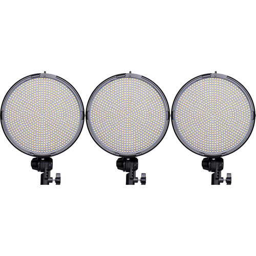 AXRTEC AXR-R-800DVx3 Daylight LED Round 3-Light Kit