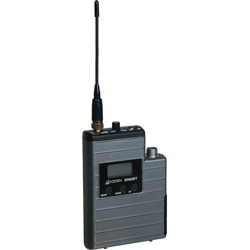 Azden 2000BT UHF Body-Pack Transmitter (638.125 to 661.875 MHz)