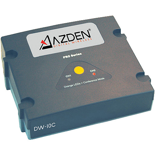 Azden DW-10C Dual-Channel Base Station with Power Cord