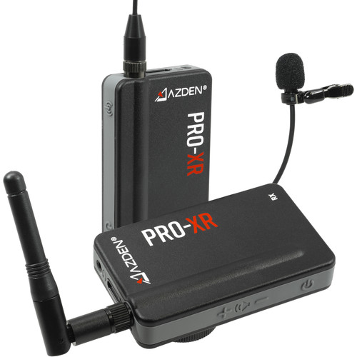Azden PRO-XR 2.4 GHz Digital Wireless Omni Lavalier Microphone System