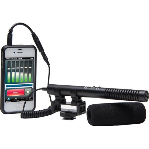 Azden SGM-990+i Shotgun Microphone, Street Audio and Video Recording Kit